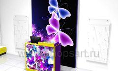 Торговое оборудование БИЖУЛЕНД магазина бижутерии Дизайн 09
