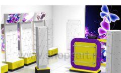Торговое оборудование БИЖУЛЕНД магазина бижутерии Дизайн 10