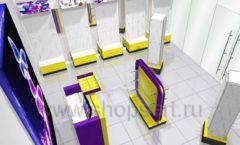 Торговое оборудование БИЖУЛЕНД магазина бижутерии Дизайн 12