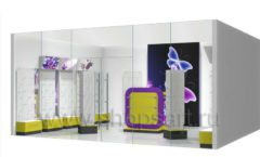 Торговое оборудование БИЖУЛЕНД магазина бижутерии Дизайн 14