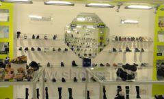 Торговое оборудование детского магазина Винни обувь Рублевское шоссе Фото 09