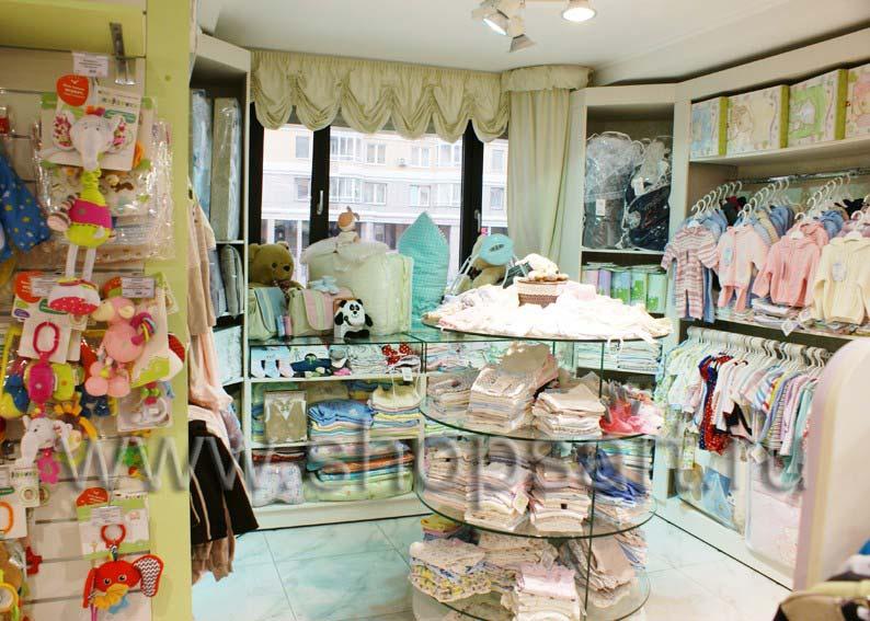 Торговое оборудование для детского магазина Малышня коллекции АКВАРЕЛИ