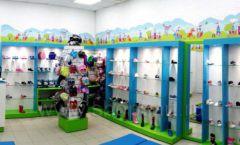 Торговое оборудование КАРАМЕЛЬ для детского магазина обуви Волшебная прогулка Фото 01