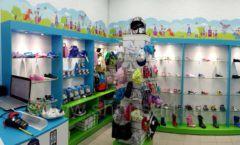 Торговое оборудование КАРАМЕЛЬ для детского магазина обуви Волшебная прогулка Фото 03