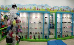 Торговое оборудование КАРАМЕЛЬ для детского магазина обуви Волшебная прогулка Фото 04