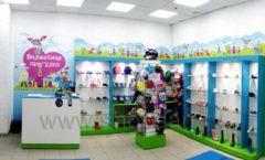 Торговое оборудование КАРАМЕЛЬ для детского магазина обуви Волшебная прогулка Фото 05