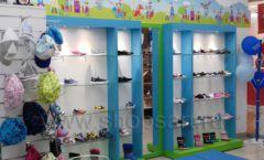 Торговое оборудование КАРАМЕЛЬ для детского магазина обуви Волшебная прогулка Фото 07