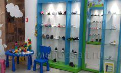 Торговое оборудование КАРАМЕЛЬ для детского магазина обуви Волшебная прогулка Фото 08