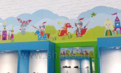 Торговое оборудование КАРАМЕЛЬ для детского магазина обуви Волшебная прогулка Фото 14