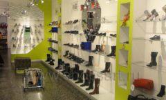 Торговое оборудование СИНИЙ ВЕТЕР детский магазин Винни обувь Рублевское шоссе Фото 02