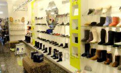Торговое оборудование СИНИЙ ВЕТЕР детский магазин Винни обувь Рублевское шоссе Фото 03