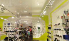 Торговое оборудование СИНИЙ ВЕТЕР детский магазин Винни обувь Рублевское шоссе Фото 04