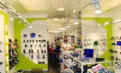 Торговое оборудование СИНИЙ ВЕТЕР детский магазин Винни обувь Рублевское шоссе Фото 05