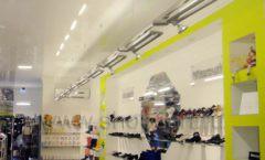Торговое оборудование СИНИЙ ВЕТЕР детский магазин Винни обувь Рублевское шоссе Фото 07