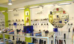 Торговое оборудование СИНИЙ ВЕТЕР детский магазин Винни обувь Рублевское шоссе Фото 08