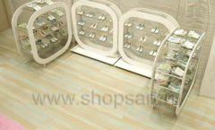 Торговое оборудование отдела обуви магазина Винни ТЦ Dream House Дизайн 2