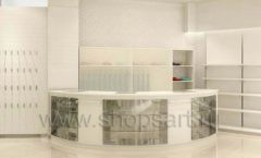 Торговое оборудование отдела обуви магазина Винни ТЦ Dream House Дизайн 3