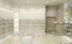 Торговое оборудование отдела обуви магазина Винни ТЦ Dream House Дизайн 5