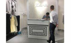 Торговое оборудование BLACK STAR для магазина одежды Зена Фото 8