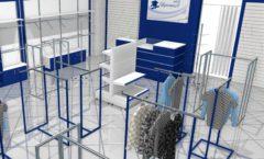 Торговое оборудование РАДУГА для детского магазина Перемена Дизайн 02