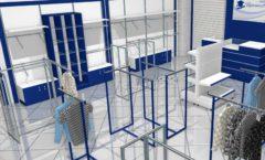 Торговое оборудование РАДУГА для детского магазина Перемена Дизайн 03