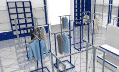 Торговое оборудование РАДУГА для детского магазина Перемена Дизайн 07