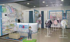 Торговое оборудование WHITE STAR для детского магазина Ивбэби ТЦ Улей Фото 02