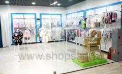 Торговое оборудование WHITE STAR для детского магазина Ивбэби ТЦ Улей Фото 07