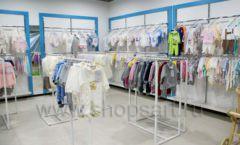 Торговое оборудование WHITE STAR для детского магазина Ивбэби ТЦ Улей Фото 09