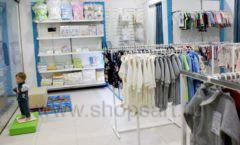 Торговое оборудование WHITE STAR для детского магазина Ивбэби ТЦ Улей Фото 14