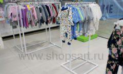 Торговое оборудование WHITE STAR для детского магазина Ивбэби ТЦ Улей Фото 22