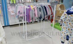 Торговое оборудование WHITE STAR для детского магазина Ивбэби ТЦ Улей Фото 24