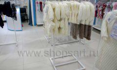 Торговое оборудование WHITE STAR для детского магазина Ивбэби ТЦ Улей Фото 27