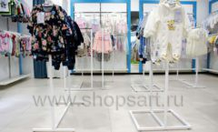 Торговое оборудование WHITE STAR для детского магазина Ивбэби ТЦ Улей Фото 33