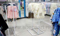 Торговое оборудование WHITE STAR для детского магазина Ивбэби ТЦ Улей Фото 38