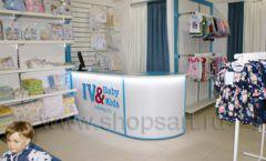Торговое оборудование WHITE STAR для детского магазина Ивбэби ТЦ Улей Фото 46