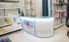 Торговое оборудование WHITE STAR для детского магазина Ивбэби ТЦ Улей Фото 48