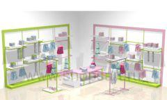 Торговая мебель для детских магазинов РАДУГА