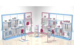 Мебель для детских магазинов РАДУГА