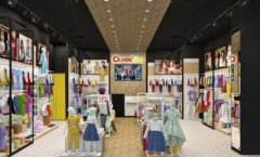 Торговое оборудование РАДУГА для детского магазина OLDOS KIDS Дизайн 2