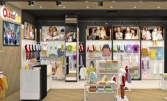 Торговое оборудование РАДУГА для детского магазина OLDOS KIDS Дизайн 4
