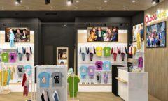 Торговое оборудование РАДУГА для детского магазина OLDOS KIDS Дизайн 5