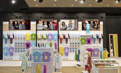 Торговое оборудование РАДУГА для детского магазина OLDOS KIDS Дизайн 7
