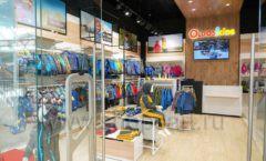 Торговое оборудование РАДУГА для детского магазина OLDOS KIDS Каширская Плаза Фото 04
