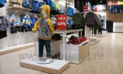 Торговое оборудование РАДУГА для детского магазина OLDOS KIDS Каширская Плаза Фото 21