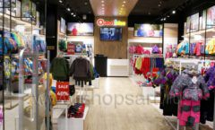 Торговое оборудование РАДУГА для детского магазина OLDOS KIDS Красный Кит Фото 01