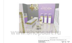 Дизайн проект ювелирного магазина Золотой имидж ТЦ Авиапарк торговое оборудование СОВРЕМЕННЫЙ СТИЛЬ Лист 16