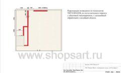 Дизайн проект ювелирного магазина GIM ТДК Маркос Молл торговое оборудование СОВРЕМЕННЫЙ СТИЛЬ Лист 05