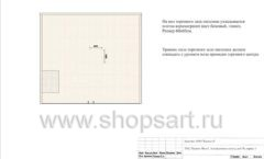 Дизайн проект ювелирного магазина GIM ТДК Маркос Молл торговое оборудование СОВРЕМЕННЫЙ СТИЛЬ Лист 06
