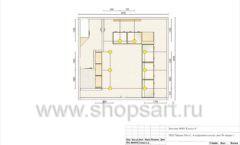 Дизайн проект ювелирного магазина GIM ТДК Маркос Молл торговое оборудование СОВРЕМЕННЫЙ СТИЛЬ Лист 07